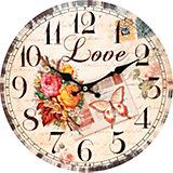 """Часы настенные """"Любовь"""", диаметр 34 см"""