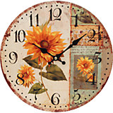 "Часы настенные ""Подсолнух"", диаметр 34 см"