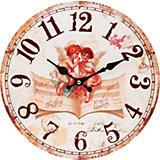 "Часы настенные ""Музыка ангелов"", диаметр 34 см"