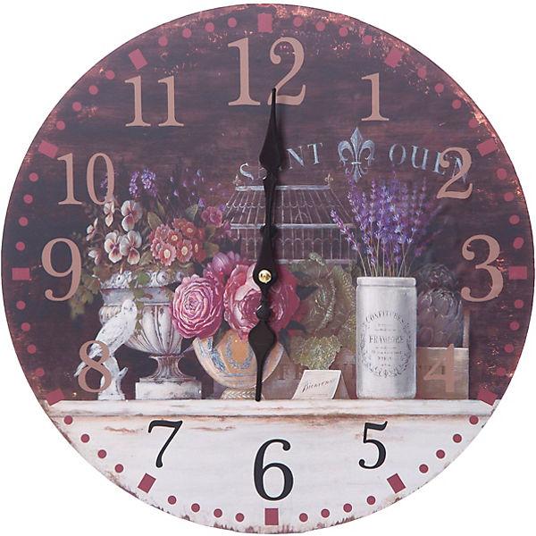 """Часы настенные """"Вечерний Прованс"""", диаметр 34 см"""