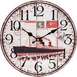 """Часы настенные """"Пароход"""", диаметр 34 см"""