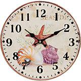 """Часы настенные """"Морские сокровища"""", диаметр 34 см"""