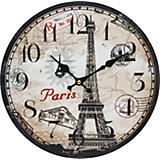 "Часы настенные ""Эйфелева башня"", диаметр 34 см"