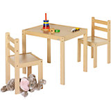 Комплект игровой мебели Kalle&Co (стол и 2 стула), Geuther