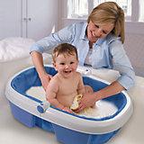 Ванночка складная 09360A , Summer Infant, голубой