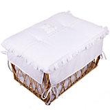 Плетеный ящик для игрушек AMORE,Italbaby, белый