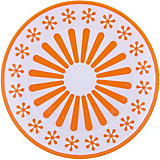"Тарелка ""Валенсия"", Alternativa, оранжевый-белый"
