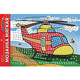 "Мягкая мозаика ""Вертолет"", формат А3 (34.5х25 см)"