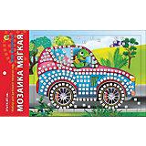 "Мягкая мозаика ""Моя Машинка"" формат А5 (21х15 см)"