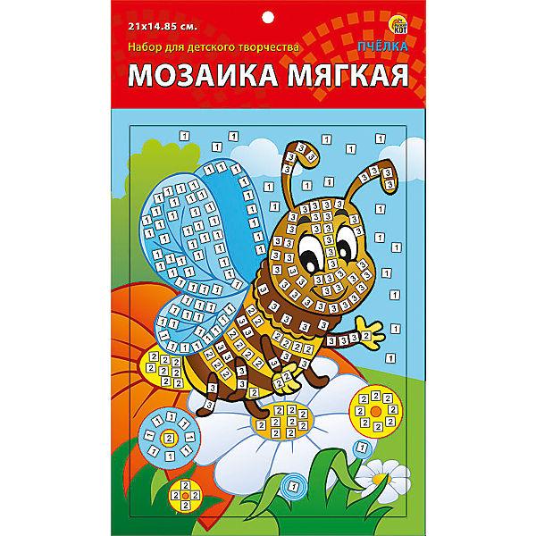 "Мягкая мозаика ""Пчелка"" формат А5 (21х15 см)"