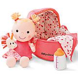 Мягкая куколка в переноске с игрушкой, Lilliputiens