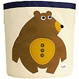 Корзина для хранения Мишка (Toffee Bear), 3 Sprouts