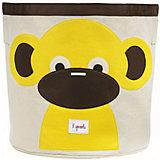 Корзина для хранения Обезьянка (Yellow Monkey), 3 Sprouts