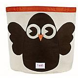 Корзина для хранения Сова (Brown Owl), 3 Sprouts
