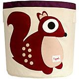 Корзина для хранения Белочка (Berry Squirrel), 3 Sprouts