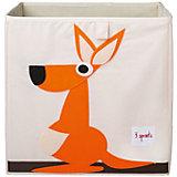 Коробка для хранения Кенгуру (Orange Kangaroo), 3 Sprouts