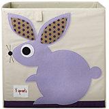 Коробка для хранения Кролик (Purple Rabbit), 3 Sprouts