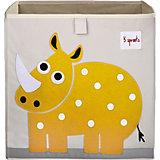 Коробка для хранения Носорог (Yellow Rhino, 3 Sprouts