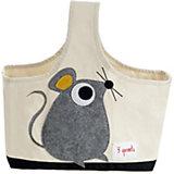 Сумочка для хранения детских принадлежностей Мышонок (Grey Mouse), 3 Sprouts