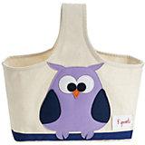 Сумочка для хранения детских принадлежностей Сова (Purple Owl), 3 Sprouts