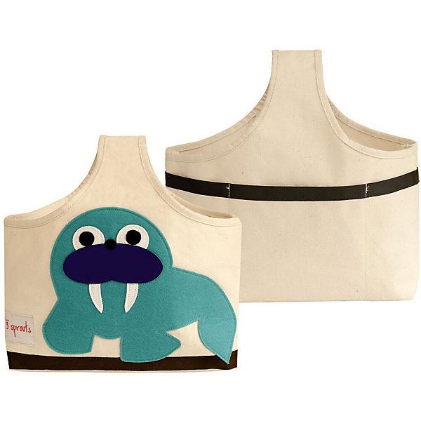 Сумочка для хранения детских принадлежностей Морж (Blue Walrus), 3 Sprouts