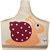 Сумочка для хранения детских принадлежностей Улитка (Red Snail), 3 Sprouts