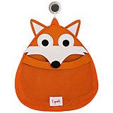Органайзер для ванной Лисичка (Orange Fox), 3 Sprouts