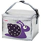 Сумка для обеда Улитка (Purple Snail SPR1004), 3 Sprouts, фиолетовый
