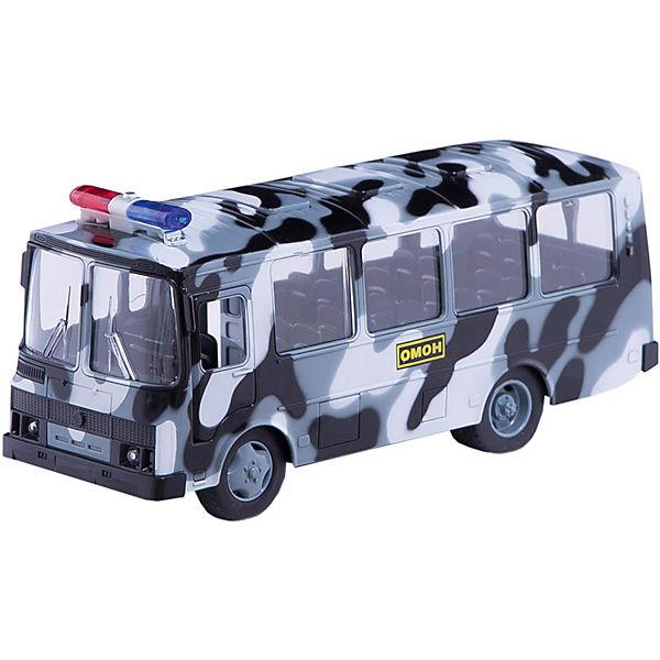 """Автобус пластиковый ПАЗ Омон"""", Технопарк"""