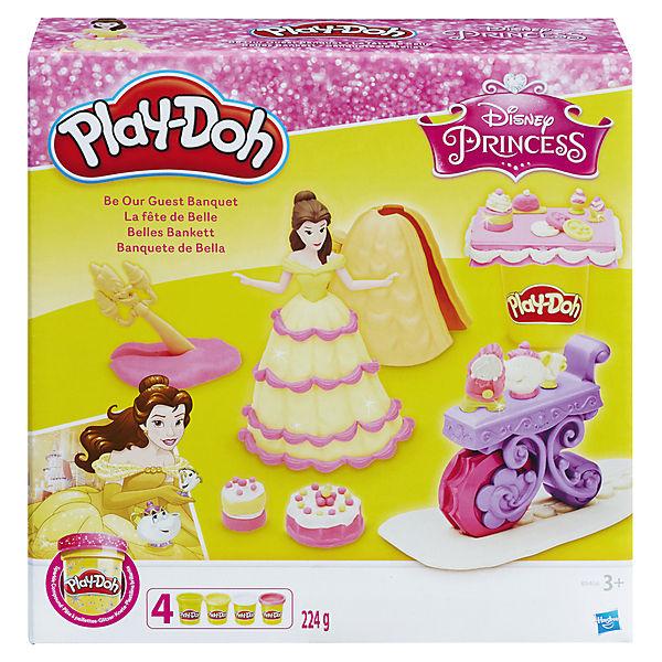 Набор для лепки Hasbro Play-Doh Disney Princess, Банкет Белль