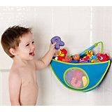 Органайзер для игрушек в ванной, Munchkin, голубой
