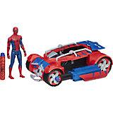 Транспортное средство паутинный город, 15 см, Человек-паук, Hasbro