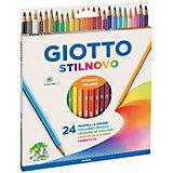 Цветные карандаши, 24 шт.