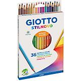 Цветные карандаши, 36 шт.