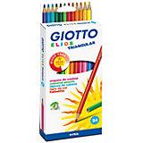 Полимерные цветные карандаши, 24 шт.