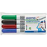Набор маркеров для белой доски со средним наконечником 4шт