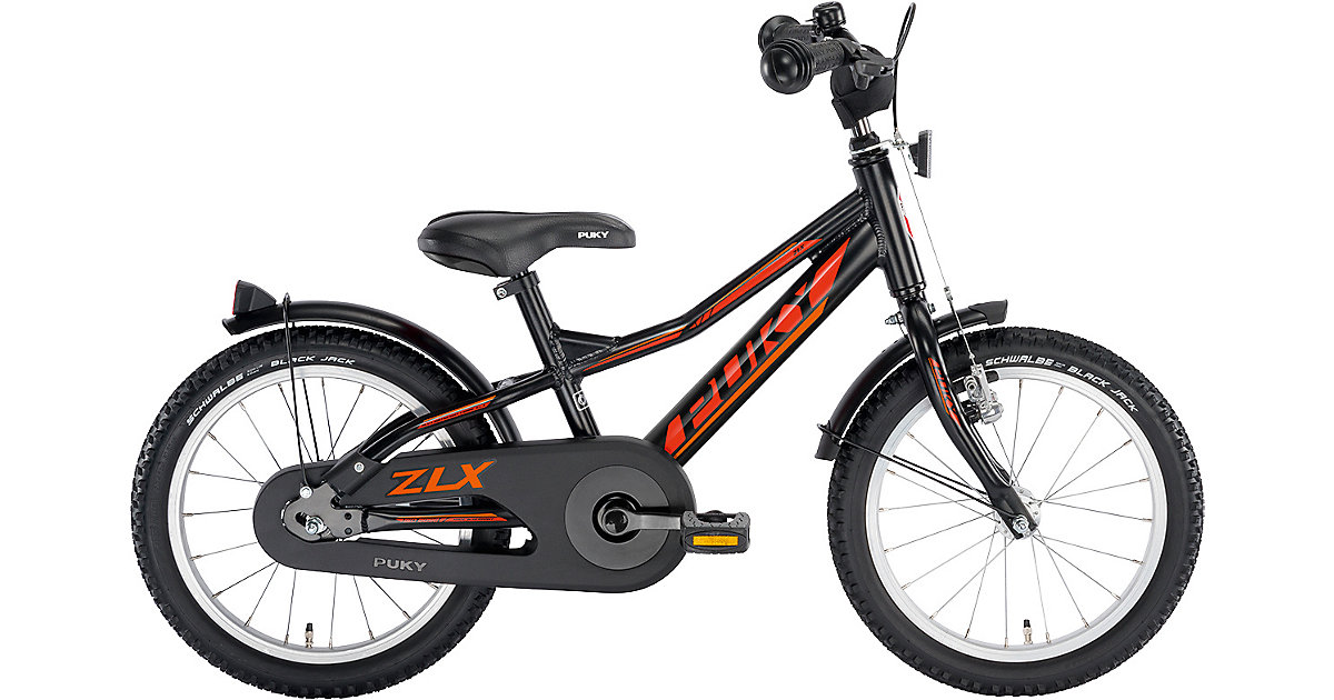 Fahrrad ZLX 16-1 Alu, schwarz