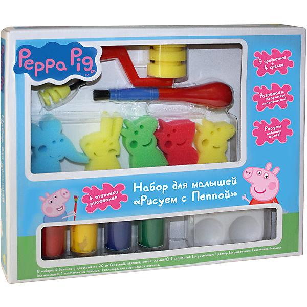 """Набор для малышей """"Рисуем с Пеппой"""", Свинка Пеппа"""