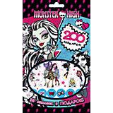 200 наклеек, Monster High