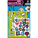 Набор наклеек 1, Monster High