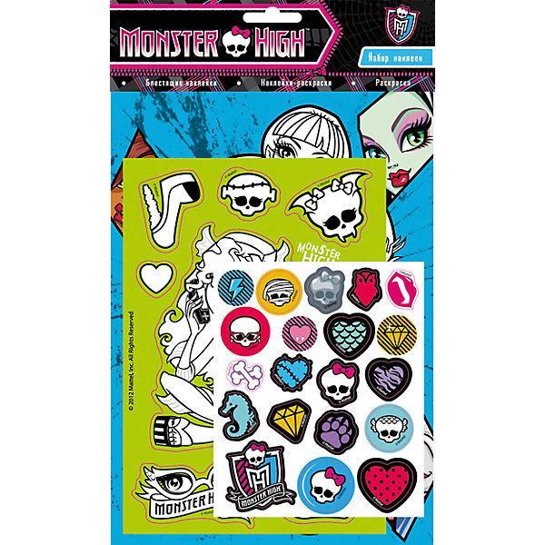 Набор наклеек 1, Monster High