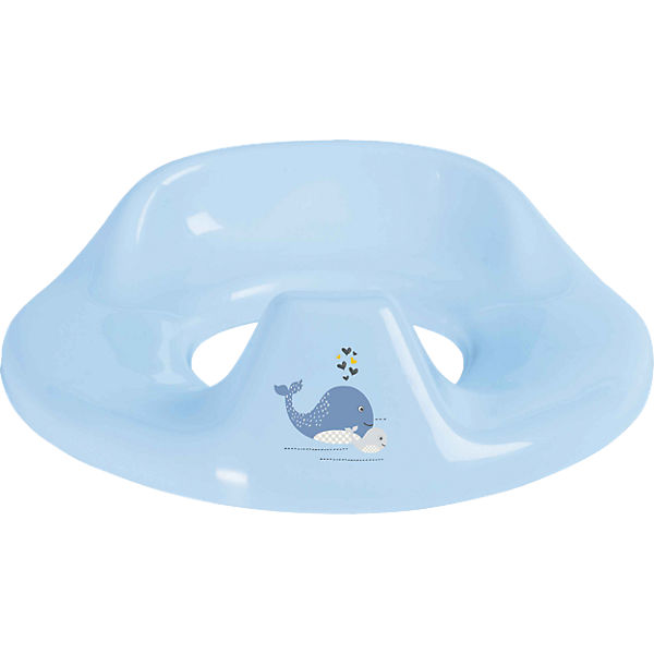 Toilettensitz Wally Whale, blau