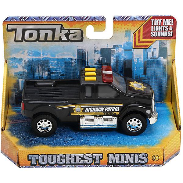 Полицейская машинка Minis, со светом и звуком, Tonka