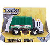 Машинка Мусоровоз Minis, со светом и звуком, Tonka