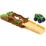 Трек с машинкой Climb-overs Forest Ranger, Tonka