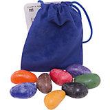 Мелки-камушки восковые, 8 шт, Crayon Rocks