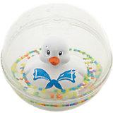 Развивающая игрушка Уточка с плавающими шариками, белая, Fisher Price
