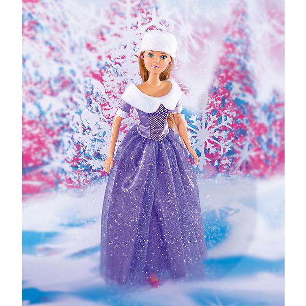"""Кукла """"Штеффи в блестящем зимнем наряде"""", 29 см, Simba"""
