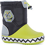 Сноубутсы Kids' CrocsLights LodgePoint RoboSaur Boot для мальчика CROCS