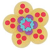 Джибитс для сабо Crocs Garden Flower Glitters